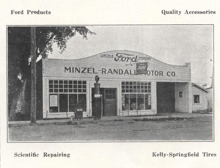 Colville History Minzel Randall Motor Company: randall motors